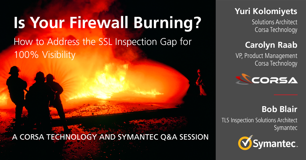 Is Your Firewall Burning? How to Address the SSL Inspection